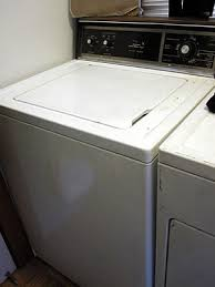 Kenmore Washing Machine Pedestal How To Take Apart And Clean A Stinky Kenmore Whirlpool Top