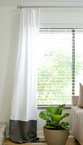 Long White Curtains Hall Extra Long Curtain Rods With White Curtain And Small Glass