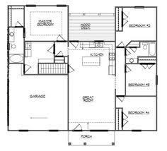 Ranch Floor Plans With Basement by Country Ranch House Plan 40026 House Plans Cars And Home