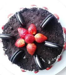 cara membuat cheese cake ulang tahun chapter 5 my first handmade birth day cake my oreo cheese cake