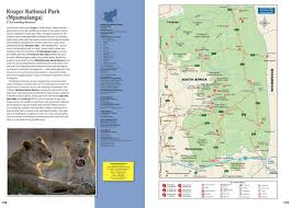 Southern Africa Map by Atlas Wildlife Southern Africa National Parks U0026 Reserves Map