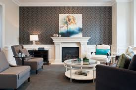 living room wallpaper accent wall 2270 home and garden photo