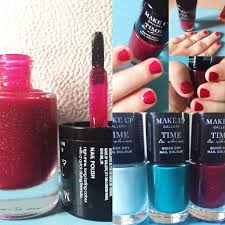 poundland make up gallery u2013 time to shine quick dry nail colour