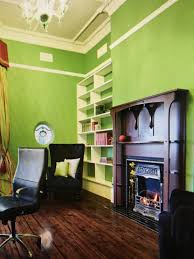 malm fireplace with charming mid century modern preway in green