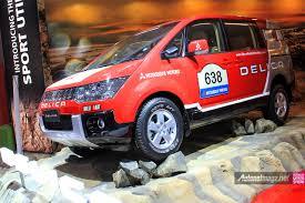 mobil mitsubishi delica mitsubishi delica d5 ralliart rally livery sticker