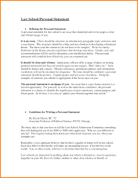 Undergraduate Personal Statement Essay Examples Format Of Personal Statement For Law