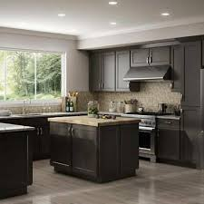 shaker style kitchen cabinets south africa fully assembled all wood 10x10 luxor smokey grey shaker kitchen cabinets gray ebay