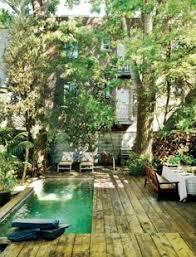 Swimming Pool Backyard Designs Urban Backyard Ideas Modern Lap Pool Outdoor Bar Ideas