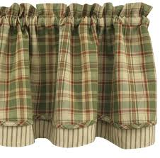 Kitchen Curtains Blue Remarkable Plaid Kitchen Curtains And Heartfelt Swags Navy Blue