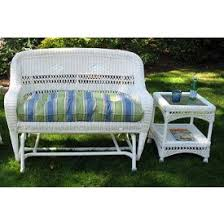 Outdoor Glider Loveseat Wicker Glider Chairs Wicker Patio Glider Chairs