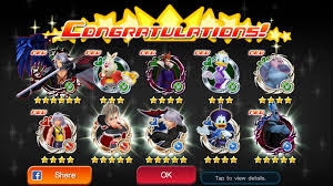 khux reversed medals and epic medal carnival kingdomhearts