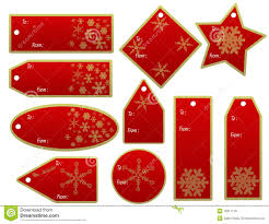 gift tags stock illustration image of snow 16311178