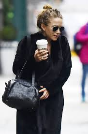 all black casual olsens anonymous kate steps out in an all black casual