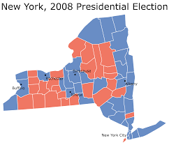 Midterm Election Map by Previewing Senate Elections New York The Politikal Blog