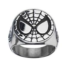 mens stainless steel rings stainless steel marvel ring