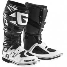 white motocross boots gaerne sg12 motocross boots limited edition white black