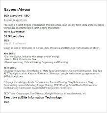 Seo Specialist Resume Sample by Seo Resume Template U2013 12 Free Samples Examples Format Download