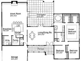 single story spanish house plans single story small house