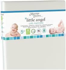 Safety 1st Heavenly Dreams Crib Mattress Reviews by Amazon Com Moonlight Slumber Little Angel Crib Mattress White