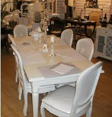 Fayence Dining Table - Cream dining room sets