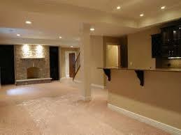 Cool Ideas For Basement Interior Interior Showy Modern Basement Flooring Design Ideas