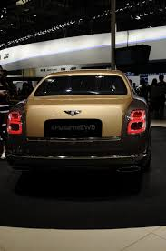 used bentley ad one of 50 bentley mulsanne first editions lands in china