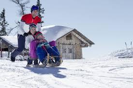 winter hiking u0026 sledding hotel schönegg