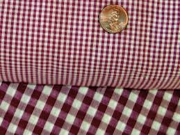 Magenta Curtain Panels Gingham Check French Door Curtain Panels