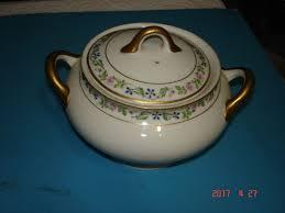 syracuse china bridal o p co syracuse china covered bowl pattern w gold jno