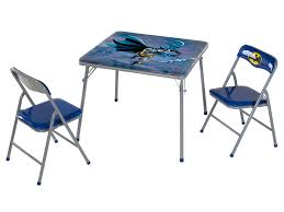 Childrens Folding Table And Chair Set Kids Furniture