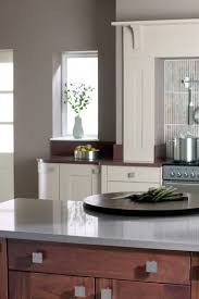 kitchen contemporary walnut kitchen cabinets with black