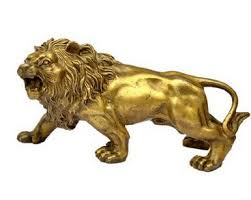metal lion statue buy brass lion statue and get free shipping on aliexpress