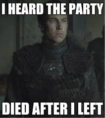 Game Of Thrones Red Wedding Meme - red wedding party died meme motley news photos and fun