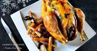 cuisiner une poularde pour noel poularde farcie au foie gras et légumes anciens rôtis recette par