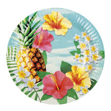 hawaiian hawaii tropical paradise summer pineapple floral