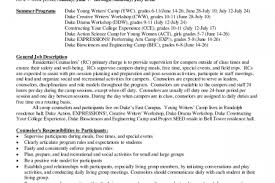 Sample Camp Counselor Resume by Counseling Resume For Position Reentrycorps