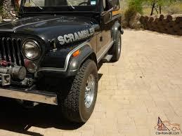 1982 jeep jamboree jeep cj 8 scrambler southwest rust free original survivor