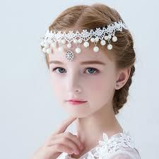 flower girl hair accessories usd 14 03 hair accessories forehead chain girl korean style