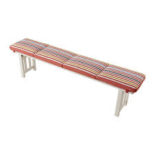 Bench Cushions For Outdoor Furniture by ängsö Bench Outdoor White White Stained Bench Cushions Outdoor
