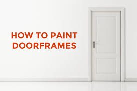 painting door frames how to paint doorframes aj cochrane master painters perth