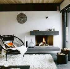 Rustic Hearth Rugs Modern Stone Fireplace Our Favorite From This Winter Interior