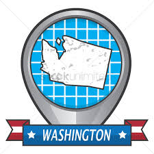 Dc State Map by Washington Dc State Map Vector Image 1571539 Stockunlimited