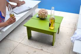 Ottoman Table Versatile Outdoor Ottoman Side Table Loll Designs