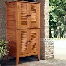 outdoor wood storage cabinet garage storage outstanding outdoor storage cabinet with shelves high