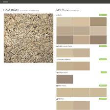 gold brazil granite countertops countertops msi stone behr