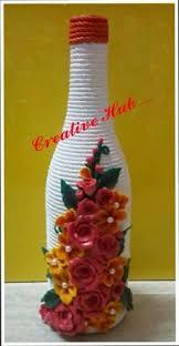 Best Out Of Waste Flower Vase Best Out Of Waste Np Best Of Waste Pinterest Craft Bottle