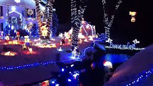 Christmas Lights House by Crazy Christmas Lights In Saugus Ma Youtube