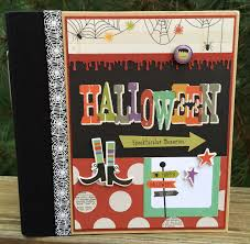 halloween on sale artsy albums mini album and page layout kits and custom designed