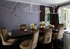 Color Feast When To Use Purple In The Dining Room - Purple dining room