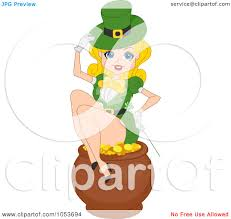 royalty free vector clip art illustration of a st patricks